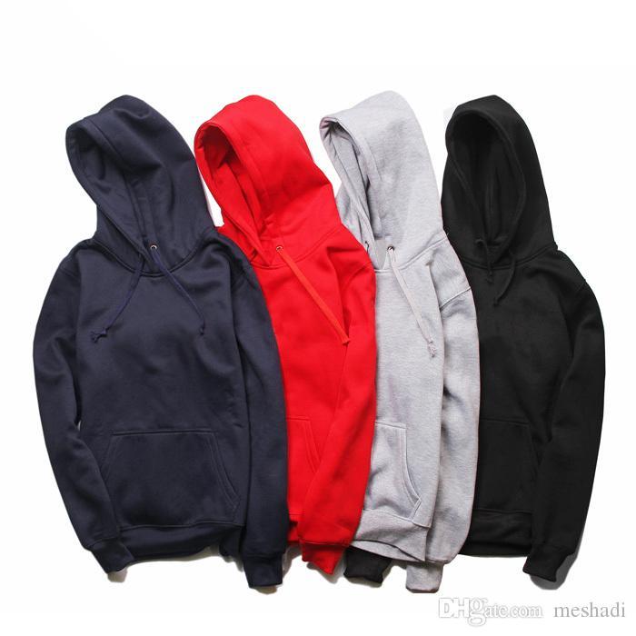 Hood Bahar Üst Kalite B101627V ile 2019 Hoodie Womens Tasarımcı Marka Saf Renk Dış Giyim Uzun Kollu Kazak Tişörtü