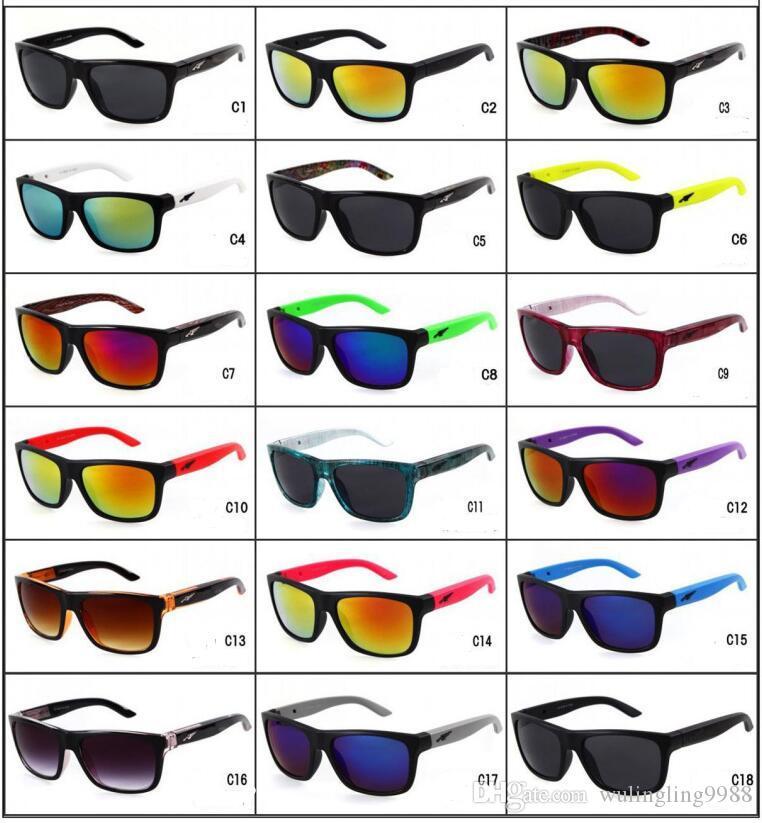 نظارات شمسية للجنسين مصنوع من البلاستيك (نظارات شمسية)