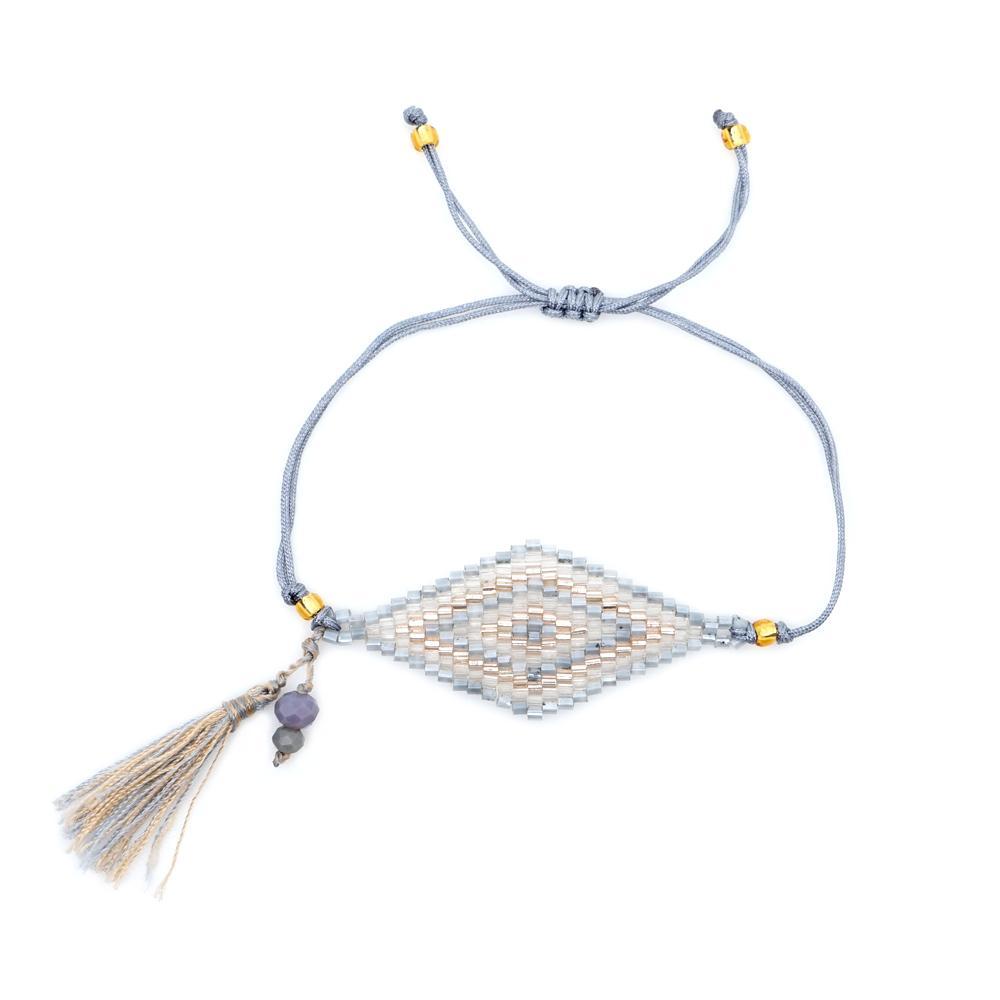 Shinus MIYUKI Pulsera 2019 Pulsera de mal de ojo para mujer Perles Pulseras Mujer Pulseras de mal de ojo Bileklik Summer Beach Jewelry