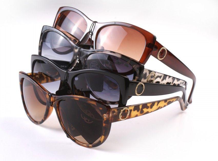 10PCS, 선글라스 고품질 블랙 레오파드 프레임 여성 브랜드 디자이너 UV400 태양 안경 여성 레이디 안경 여성 안경 8015