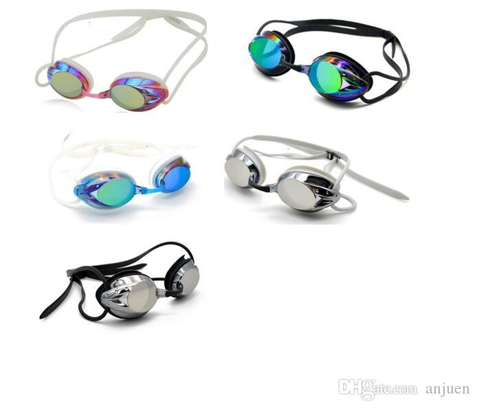 نظارات السباحة لمكافحة الضباب سباق نظارات في الهواء الطلق واضح السباحة نظارات لا تسرب حماية للماء نظارات سباق نظارات سباحة