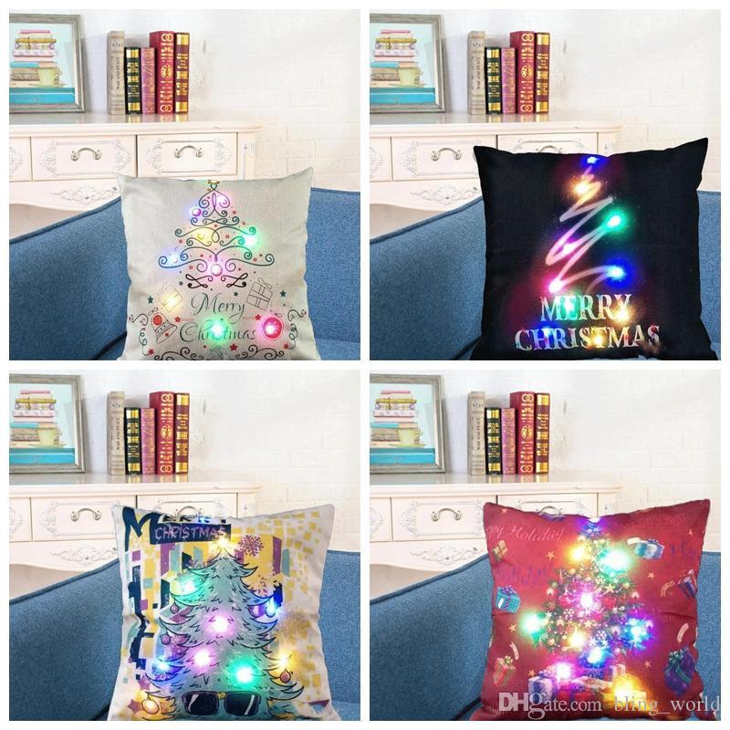 Luminous Baby Cushion Crescent Moon Decorative Pillow for Home Sofa Decoration