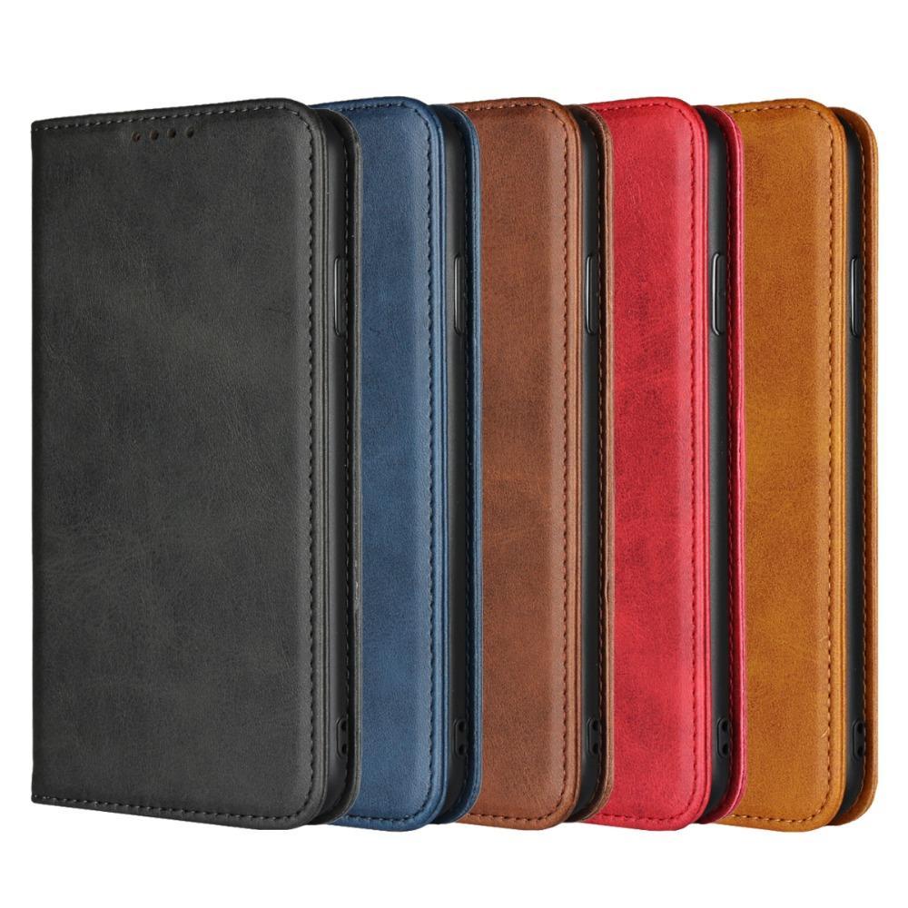 Оптовая продажа роскошных откидная крышка из натуральной кожи для iPhoneX XS Max XR чехол кошелек из натуральной телячьей кожи чехол для телефона 6Plus 7 8Plus Retro