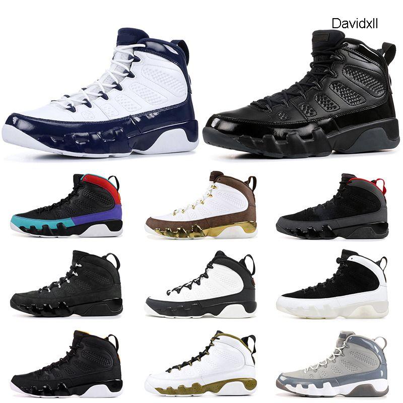 Jumpman 9S Баскетбол обувь для мужчин UNC Bred приснилось, Do It Mop Мело Город полета Space Jam Древесный уголь тренеров Спортивные кроссовки