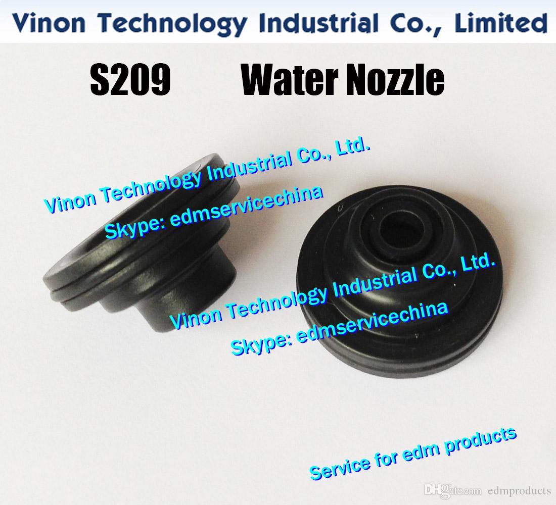 (5PCS / 많은) S209 물 노즐 위 D = 6mm AQ.A.AP, AG, AD 형 유형에 대한 3081674,3081033 87-3,97-3 WEDM 기계 3082128,3082207,3081675,3081676