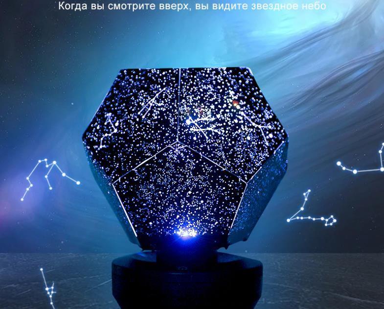 originais LED Stary Noite Lamp lâmpada dreamcatcher 3d para o quarto Constellation Projeção casa planetário Crianças