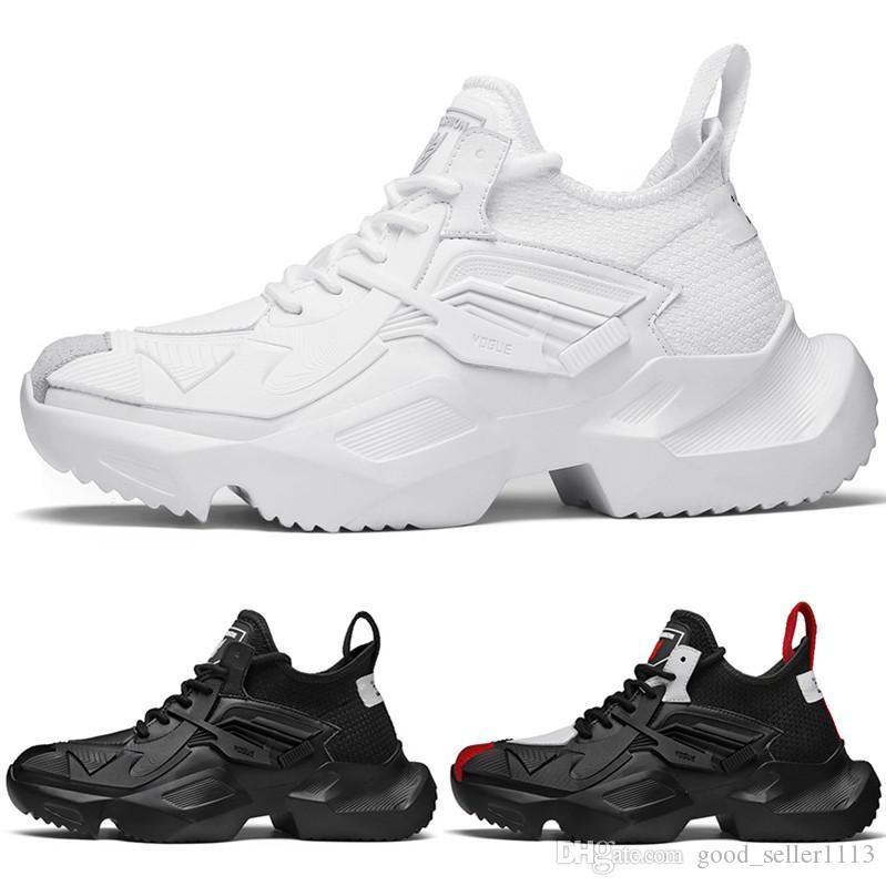 Hochwertige Plattform kühlen sneaker type3 weich weiß schwarz rot shop01 Kissen junge Männer Jungen Laufschuhe Designer Trainer Sport-Turnschuhe