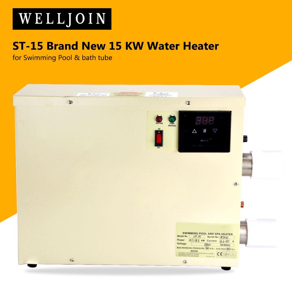 ST-15 아주 새로운 15 KW 온수 수영장 목욕탕 관