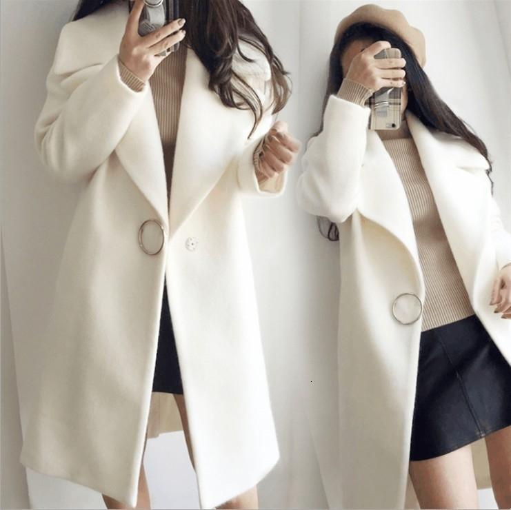 Kadınlar Sıcak Pamuk Palto Kış Kalın Triko Şal Pelerin T190913