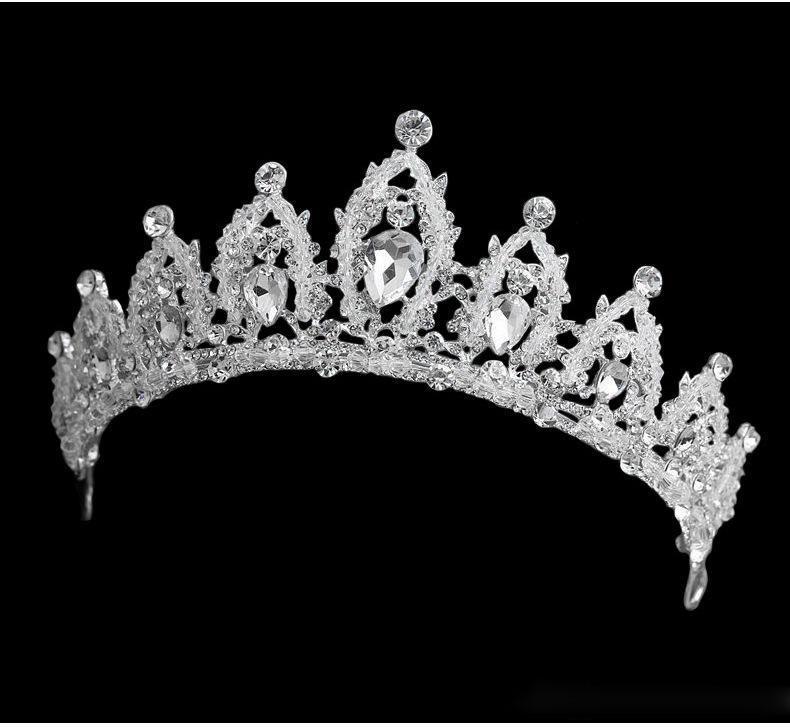 Nova Grinalda Bridal Pearl Headpieces Seaside Jóias Acessórios De Casamento Acessórios Garland Girl Crown's Crown's Headdress 2020 Bling Bling