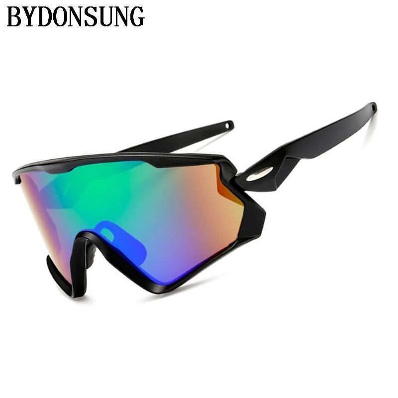 Markendesigner Outdoorsport Radfahren Fahrrad Reiten Herren Sonnenbrille Brillen Frauen Schutzbrille Brille UV400 Objektiv Drop Ship