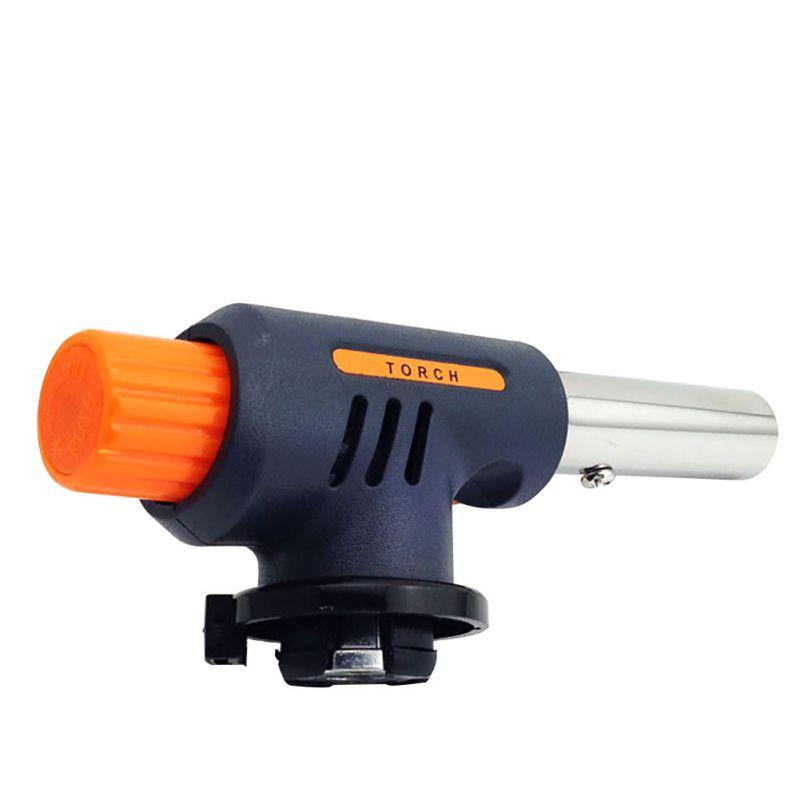 Auto Ignition Camping Welding Outdoor Travel Airbrush Gas Torch Flamethrower Butane New