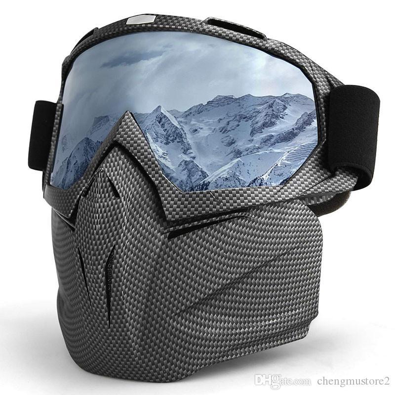 새로운 고글 오토바이의 핫 판매자 모래 증거 유리 방풍 도로 고글 오토바이 마스크 헬멧 안경 오프 할리 고글 안경