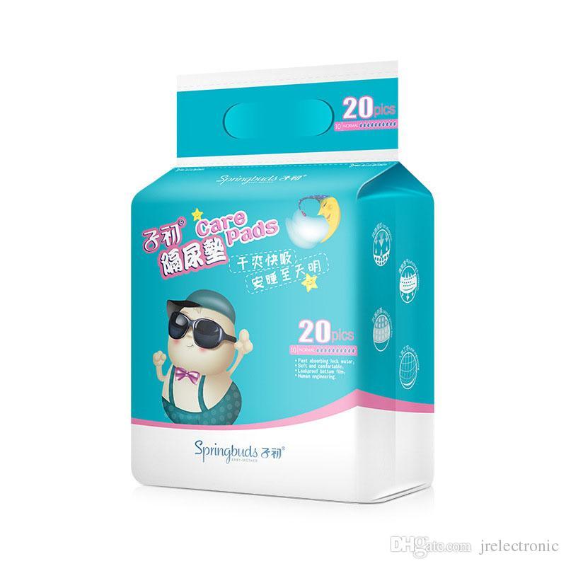 20 قطع الرضع المتاح الطفل سادة للماء تنفس الوليد الأطفال المتاح فراش سادة الحيض الطفل الإمدادات