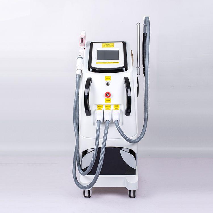 2020 Горячие многофункциональных IPL удаления волос лазера Nd YAG лазер для удаления татуировки машины радиочастотной подтяжки Elight неавтоматического SHR IPL
