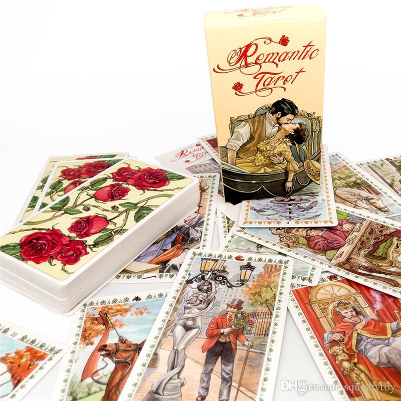 Kreative Tarot-Karten-Spiel-Karte Familien-Feiertags-Party-Spielkarten Englisch Tarot-Spiel-Karten Brettspiele Set