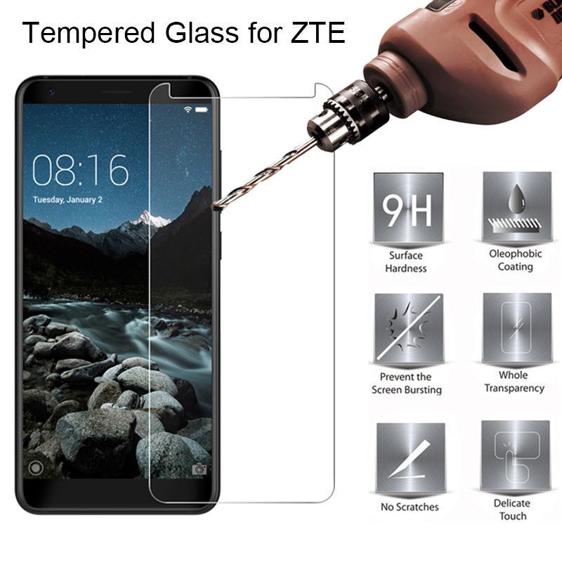 Front Screen Glass for ZTE Blade V7 Lite V6 V Plus Tempered Glass for Zte Nubia V9 Vita V8 Mini Toughed on V7 Max V8 Pro