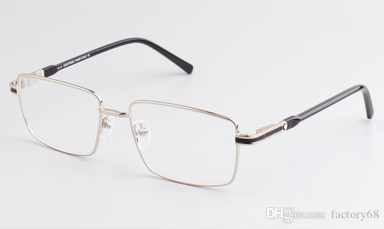 Nouveau Full frame frame frame male MB709 loisirs myopie miroir confortable miroir plat glasseseyeglasses