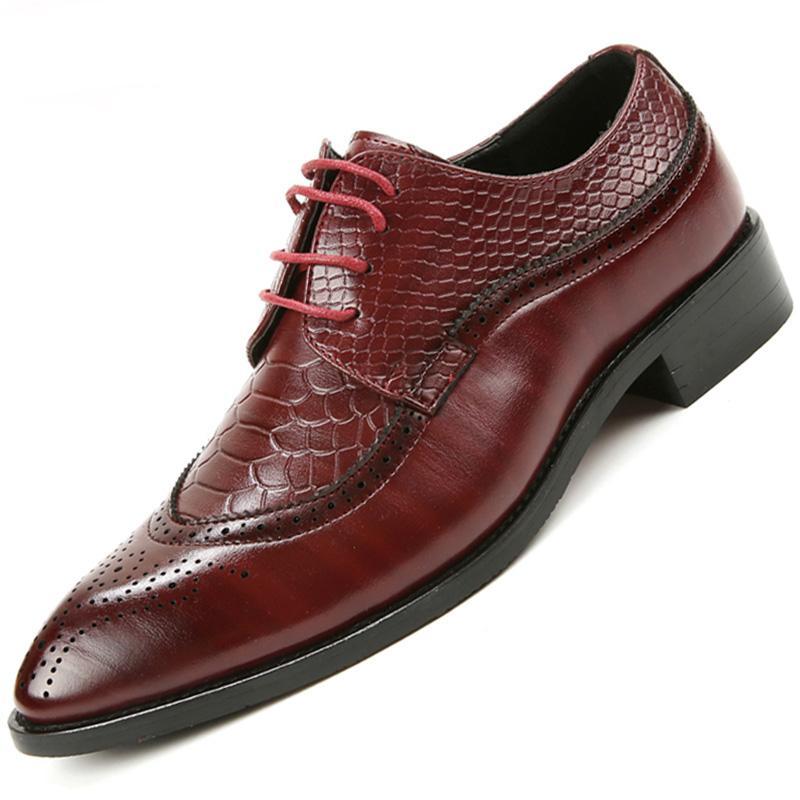 Mode Hommes Robe Chaussures Hommes Chaussures mariage Mocassins cuir de haute qualité Hommes Chaussures de mariage Mocassins Taille 37-48