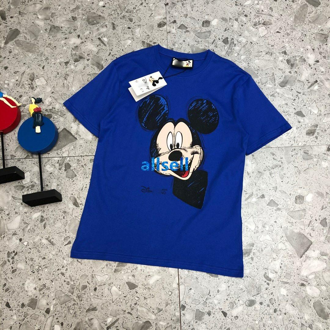 high-end mulheres meninas t-shirt desenhos animados grafite carta padrão tripulação pescoço curto blusa manga da camisa T novo design de moda topos pullover luxo