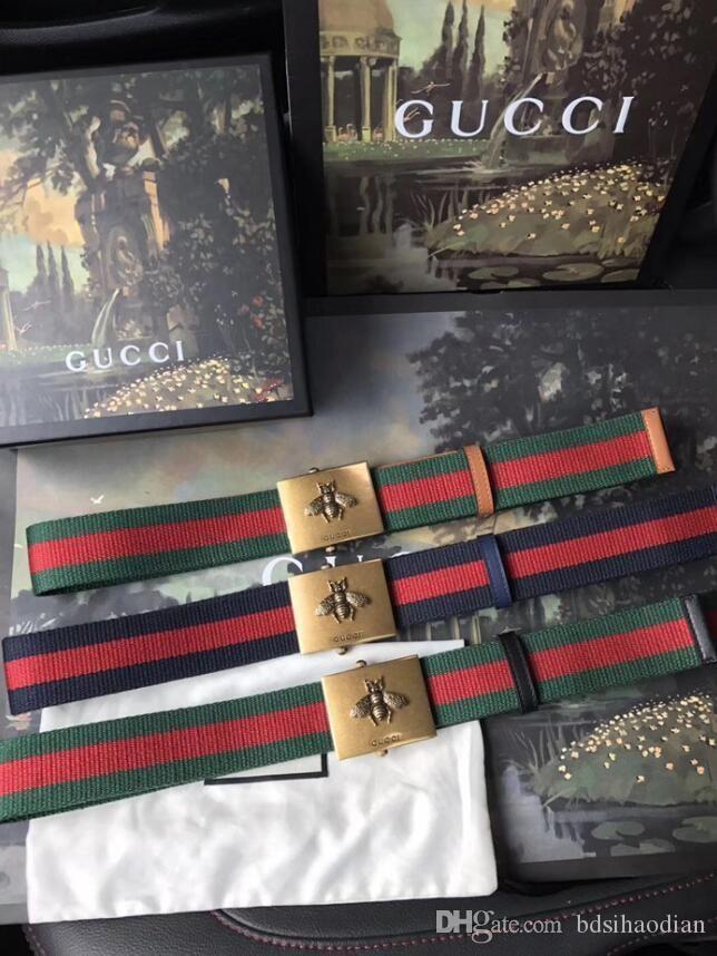 Crocodile Veines Ceintures de créateurs de luxe Ceinture pour Marque Man Mode montb-Hexagone Aiguille Boucle très qualité avec la boîte et sac à main