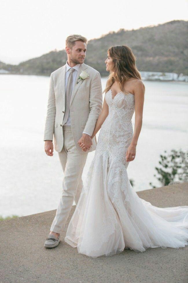 Latest Coat Pants Designs Grey Linen Mens Wedding Suits Man Blazers Classic Fit Groom Tuxedos 2Piece Summe Beach Wedding Party Costume Homme