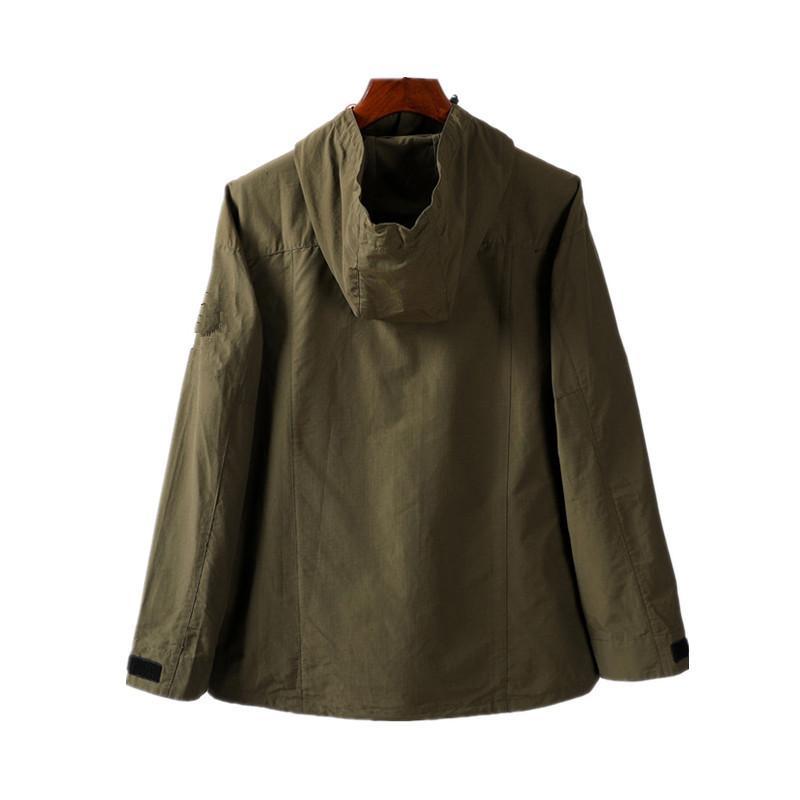 topstoney 2020sss Nuovo incappucciato metà giacca tasca con zip della moda giovanile europea e americana giacca casual cappotto maschile della guaina di nylon tessuto Uomo