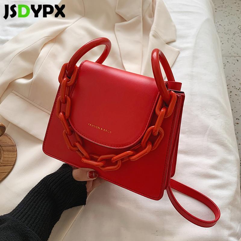 Женская мода Tote сумки Женские письма цепи плеча Crossbody сумка Стильный маленький квадрат сцепления сумка кошелек