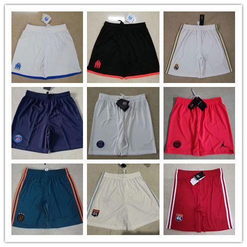 Top thai qualidade psg futebol Calções 2019 2020 calções Real Madrid Ajax calções de futebol shorts Tamanho europeu S-2XL