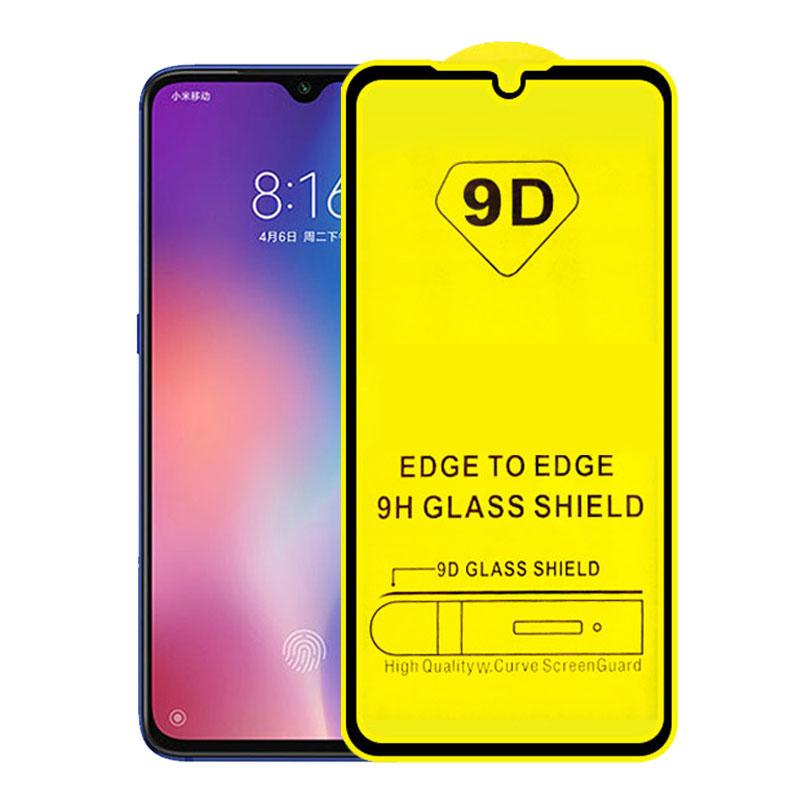 LGYD 25 PCS 9H 5D Full Glue Full Screen Tempered Glass Film for Huawei Y5 2019 Honor 8S