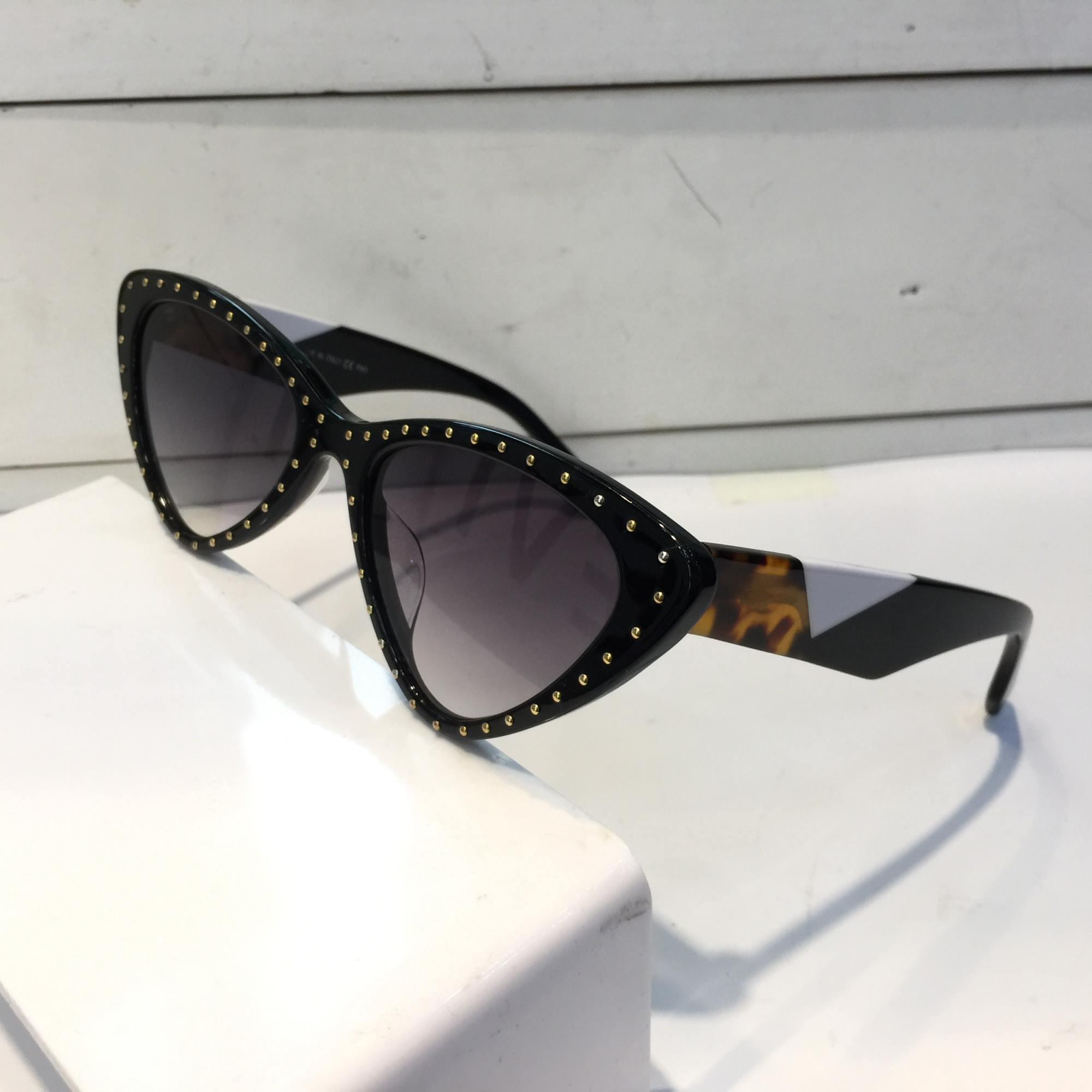 Luxury- 0323 Sunglasses For Women Fashion Design Popular Charming Cat Eye Sunglasses Top Quality UV Protection Sunglasses Come With Package