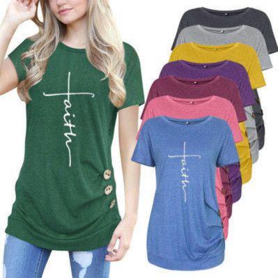 Женщины дизайнер футболки Fashion Luxury Письмо печати с коротким рукавом Leopard Tshirts Мужской Summer High End Crew Neck Tshirts Тис Горячие продажи