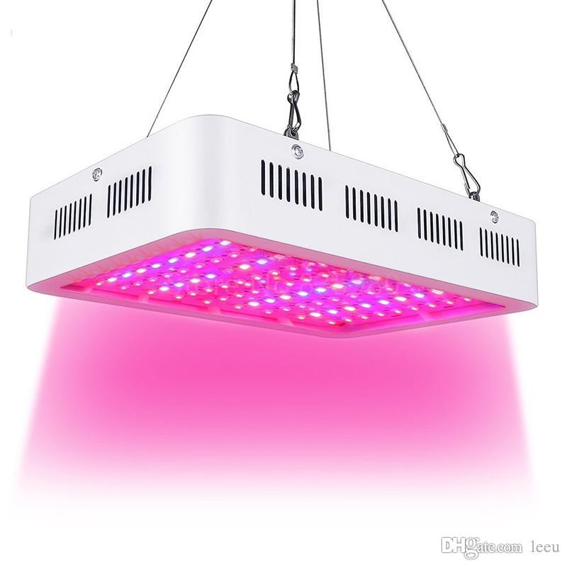 Kapalı Kova Hidroponik Bitki Çiçek için Işık 1000W Çift Chip Tam Spectrum LED Grow Işık Yüksek Verim LED Grow
