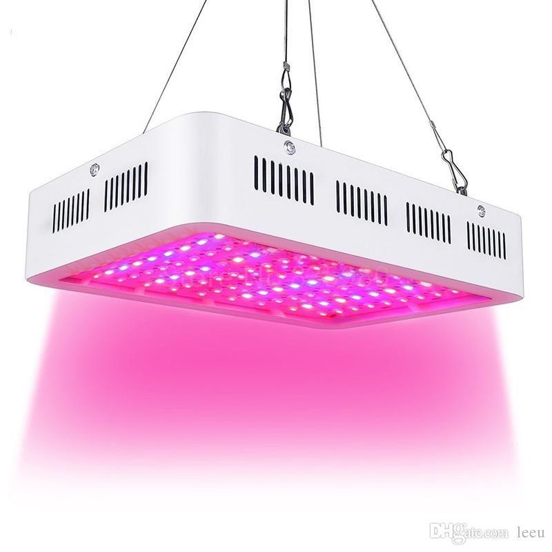 LED crescer luz 1000w chip duplo espectro completo para aquário indoor flor hidropônica flor led crescer alto rendimento elevado