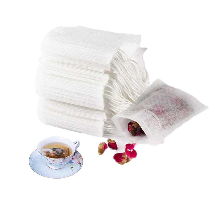 Одноразовые пакетиков Пустые душистый чай мешок Heat Seal Фильтровальная бумага для Херб рассыпной чай 7 * 5 6 * 8 7 * 9 8 * 10