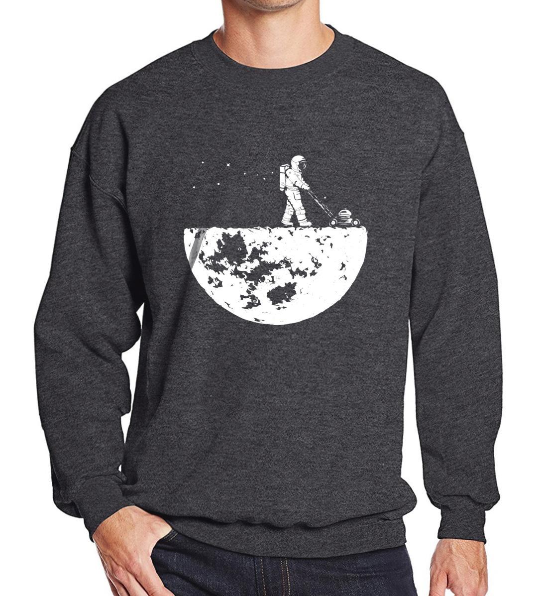 Felpe da uomo in vendita calda Autunno Inverno Stampa in pile Sviluppo The Moon Fashion Abbigliamento sportivo per uomo Felpa con cappuccio Felpe con cappuccio Harajuku