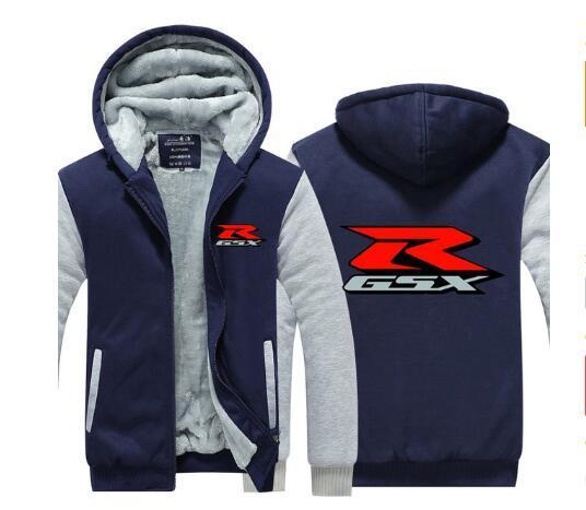 2019 New Gsx Sweater Men S Hooded Winter Wear Men S Korean Sports Plus Velvet Thicken Men S Zip Jacket