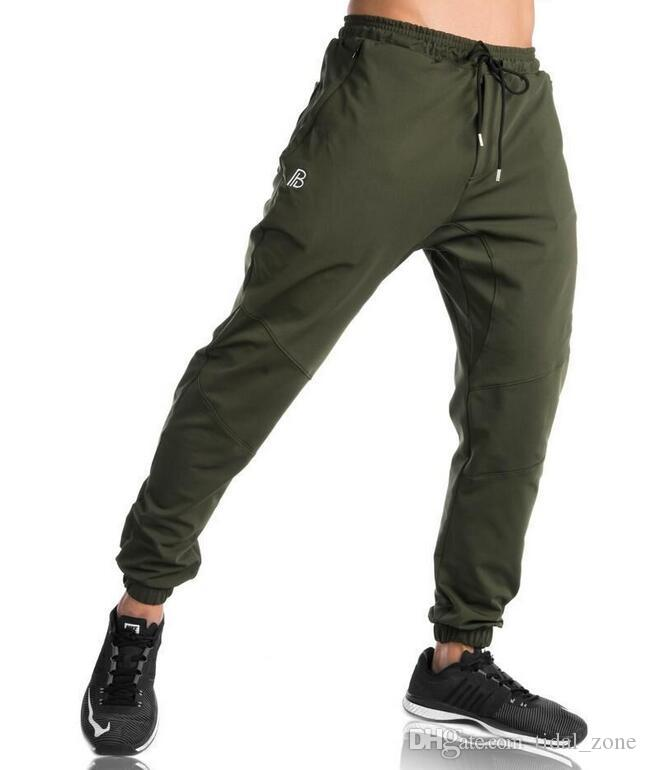 Compre 2019 Gym New Fashion Verano Pantalones De Deporte Casual Para Hombre Pies Pequenos Boca Rapida Pantalones De Fitness Para Hombre Gym Pants A 17 93 Del Tidal Zone Dhgate Com