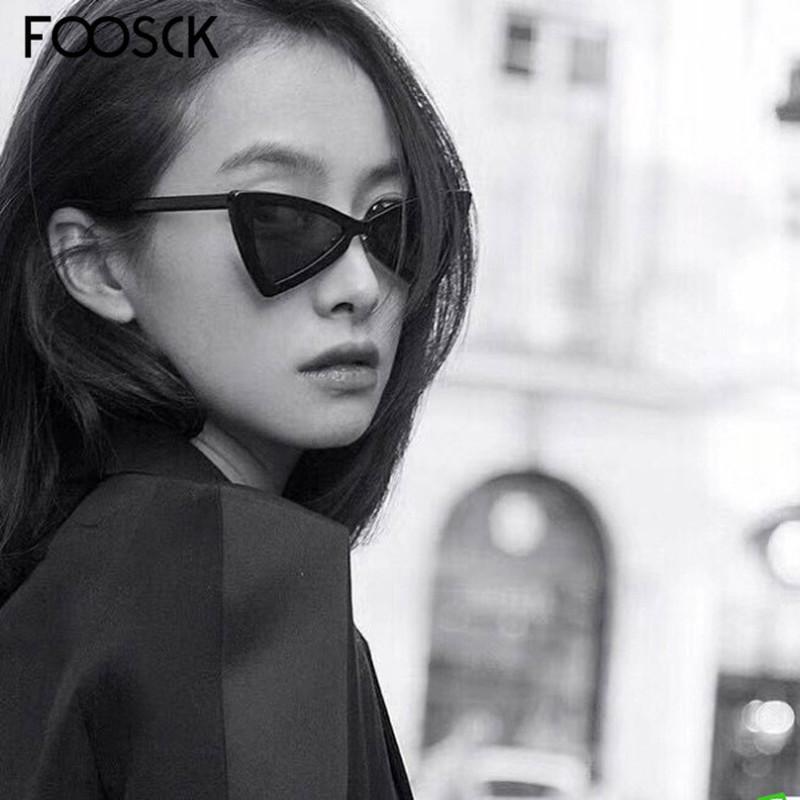 FOOSCK Australia stile Vintage Cat Eye Sunglasses delle signore delle donne di moda Cateye Occhiali da sole UV400