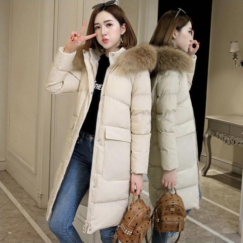 preço Moda Lowset Brasão jaqueta No Inverno Duck Ultra Luz para baixo revestimento morno Feminino de Down Feminino Outwear com capuz manga comprida T191121