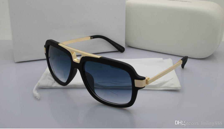 2019 new luxury männer und frauen marke sonnenbrille mode oval sonnenbrille uv schutz objektiv beschichtung spiegel objektiv rahmenlose rahmen # 888888