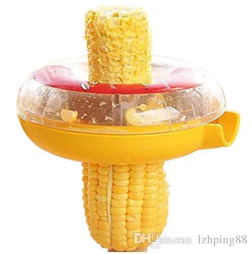 Home Gadgets Corn Stripper Peeler Zester Grain Cob Thresher Remover Fruit Vegetable Kitchen Accessories Cooking Tools