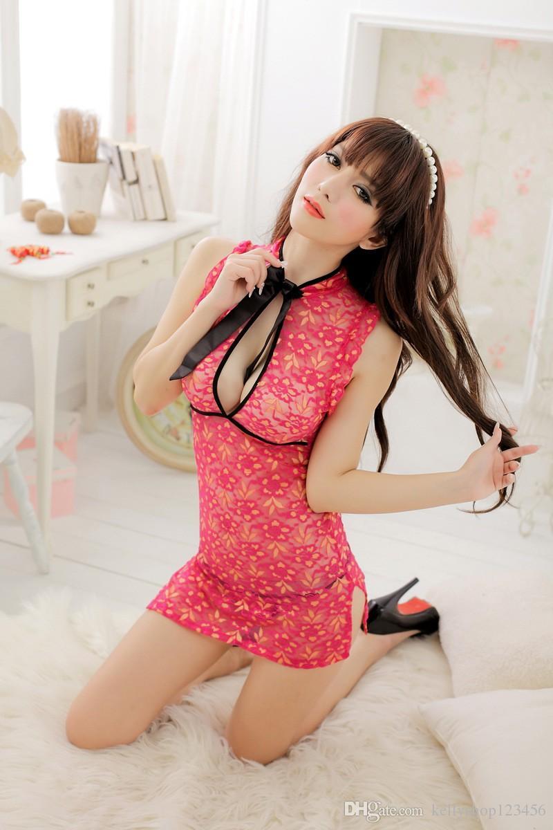 Сексуальное женское белье Spot оптом униформа Cheongsam женское белье Cheongsam