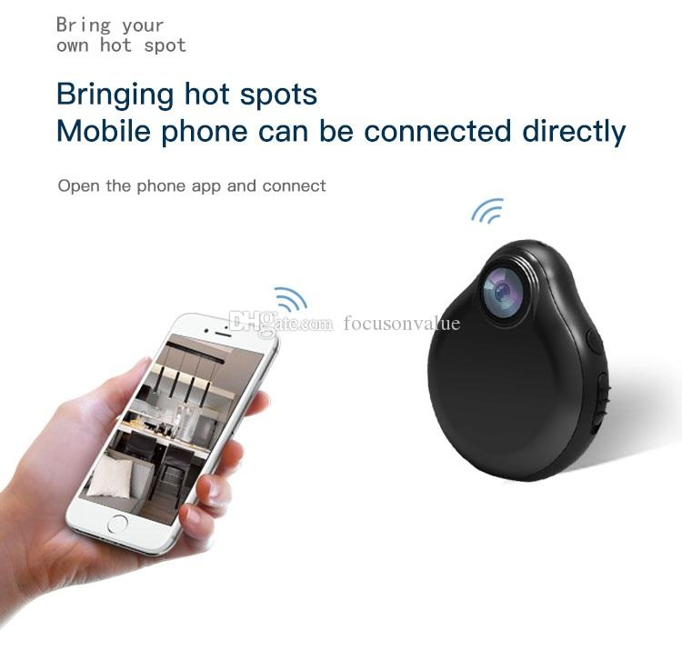 Wifi Mini IP Camera HD 1080P Wireless IR Night Vision Mini DV DVR Motion Sensor Security Monitor Cam Video Reocrder Support Remote View