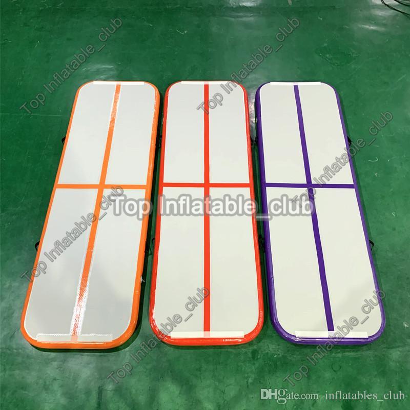 Freie aufblasbare Luftbahn des Verschiffens / Luftfußboden / Luftmatte / stolpernde Matte für Verkauf 3 * 1 * 0.1 aufblasbare Gymnastikmatte für Gymnastik