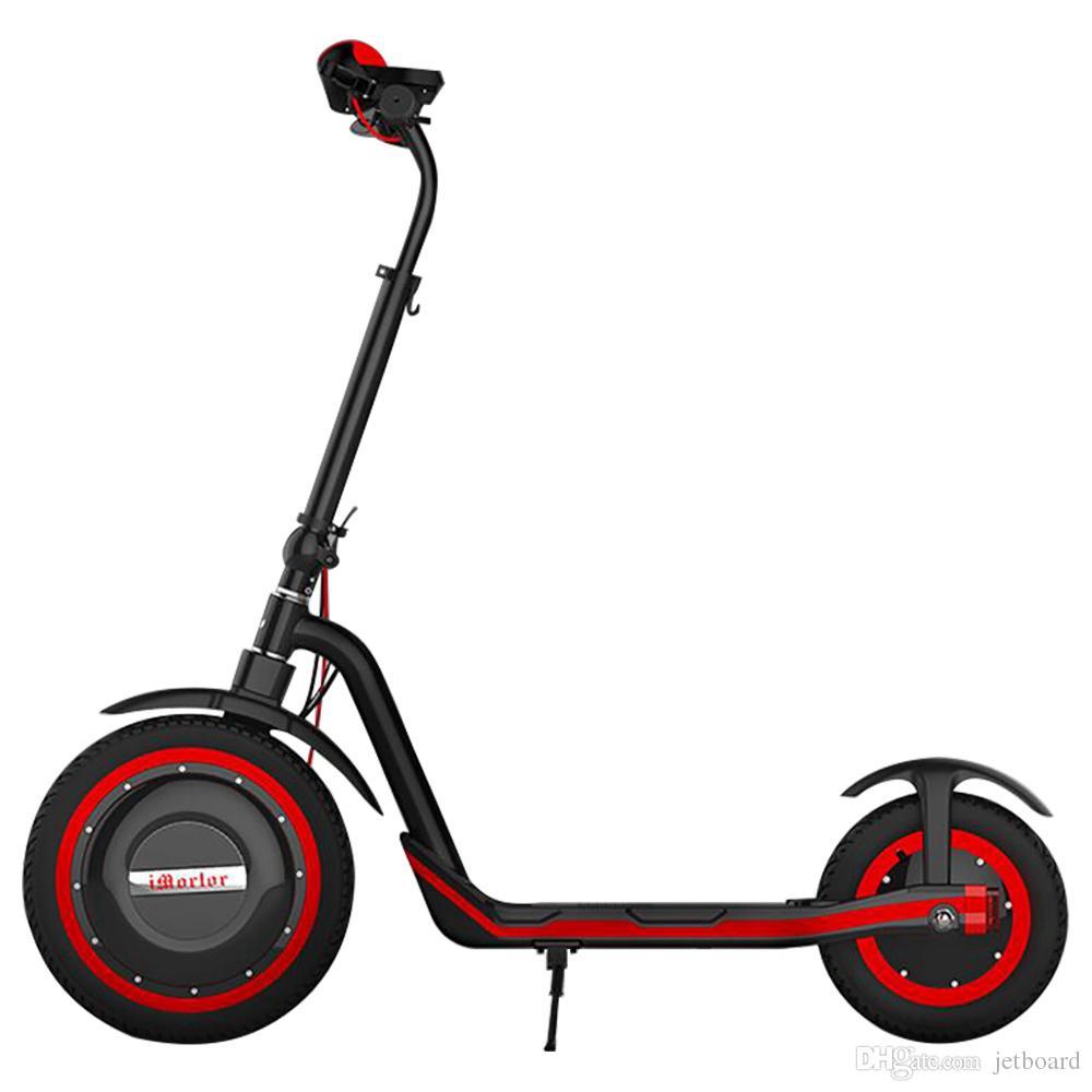 Pneu avant pneumatique tout-terrain pliable du moteur 350W du scooter 350W d'iMortor C1 maximum