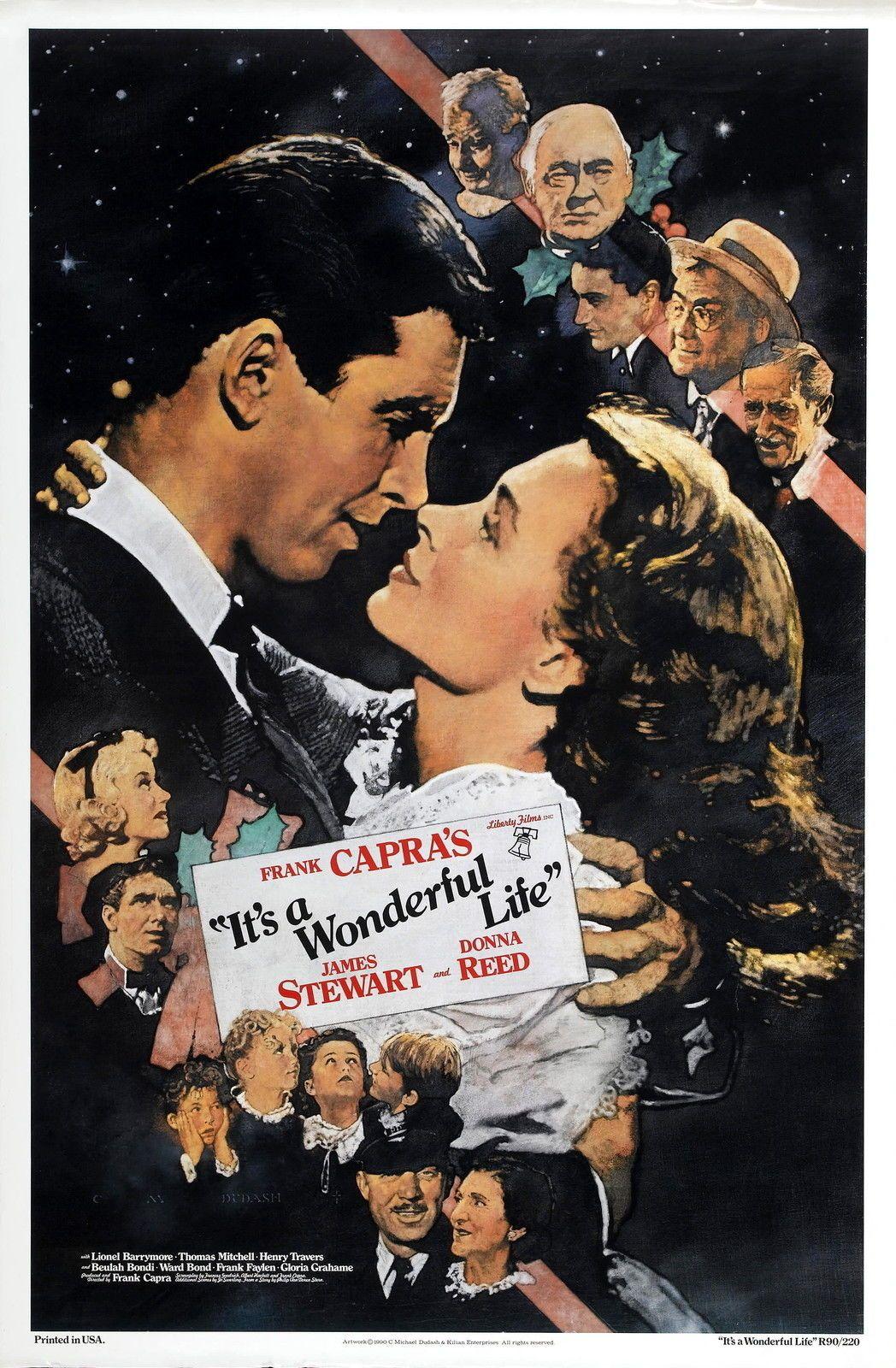 Its A Wonderful Life Movie Art Silk Poster 24x36inch 24x43inch