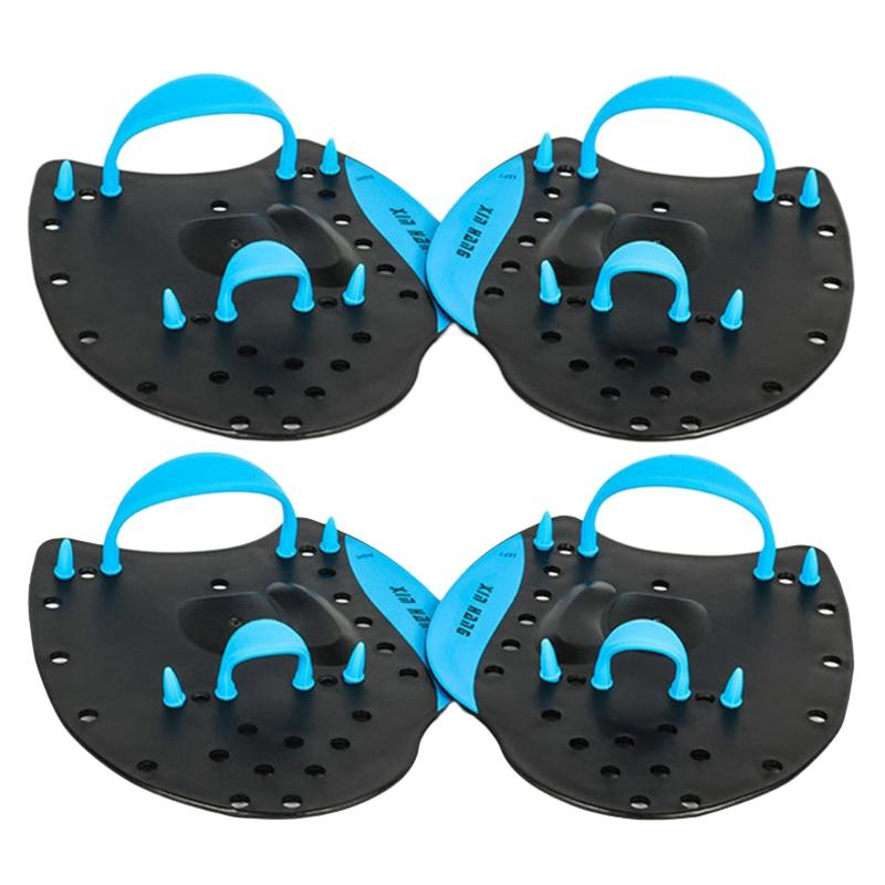 Swimming Paddles Help Swimming Palm Children Adult Paddling Professional Training Exercises Arm From Swimming