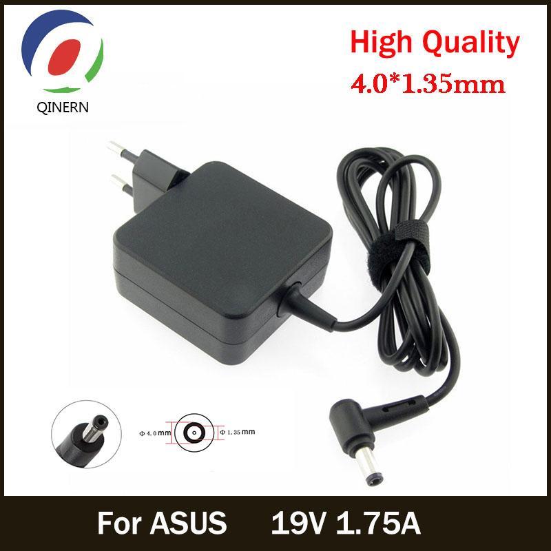 Günstige Laptop Adapter U 19V 1,75A 33W 4.0 * 1,35mm AC Laptop-Ladegerät Power Adapter für AUS ADP-33AW S200E X202E X201E Q200 S200L S220