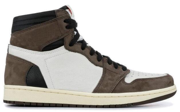2020 Nuevo 1 Alto OG Shattered Zapatos del tablero trasero de baloncesto 3.0 Negro Naranja 1s Hombres Deportes zapatillas de deporte con la caja
